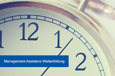 management assistenz weiterbilden